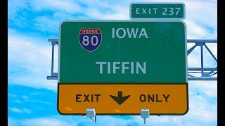 EYRNE 168 - Tiffin Iowa Interstate 80 at Exit 237 We Had Fun at the Crossroads