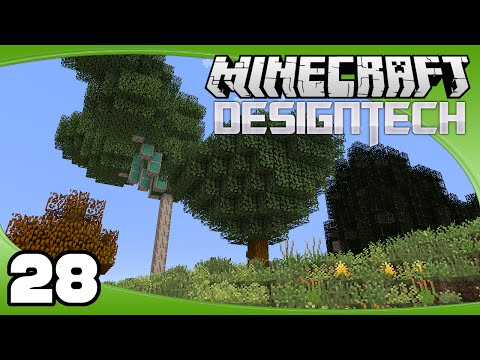 DesignTech - Ep. 28: Ancient Trees | Minecraft Custom Modpack Let's Play