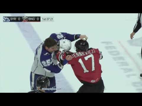 John Quenneville vs. Callan Foote