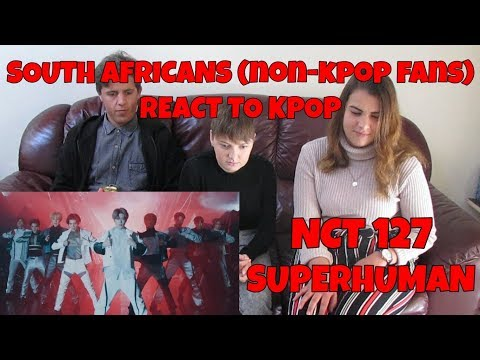 SOUTH AFRICANS REACT TO KPOP (non-kpop fan): NCT 127 - SUPERHUMAN