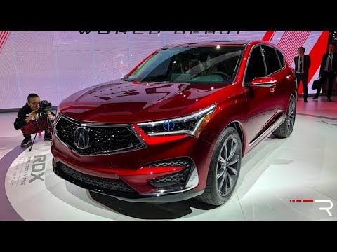 2019 Acura RDX – Redline: First Look – 2018 NAIAS