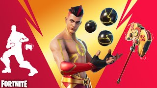 We Unlocked the Grefg Controller Pickaxe and Emote! (Fortnite Solo Floor is Lava Cup)