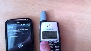 HTC Sensation XE Connected To Ericsson T39m