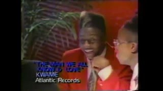 Kwame   The Man We All Know And Love (1989)