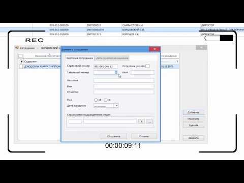 Программа ПУ-6: как добавить данные о страхователе и работнике