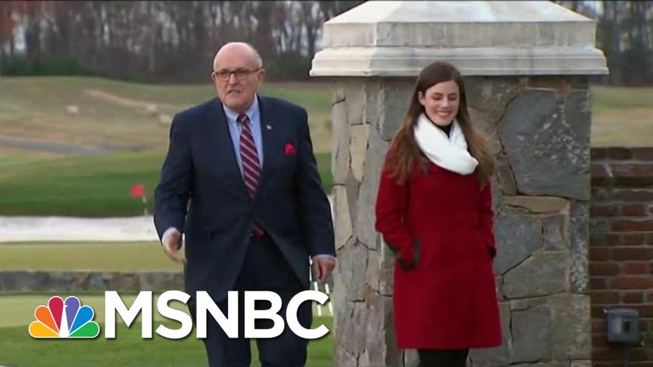 Rudy Giuliani Tries New Tactics To Discredit Robert Mueller | Hardball | MSNBC thumbnail