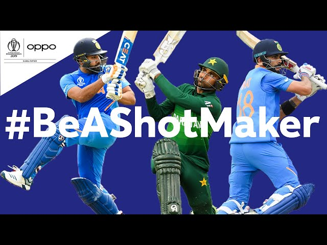 Oppo #BeAShotMaker | India v Pakistan - Shot of the Day | ICC Cricket World Cup 2019