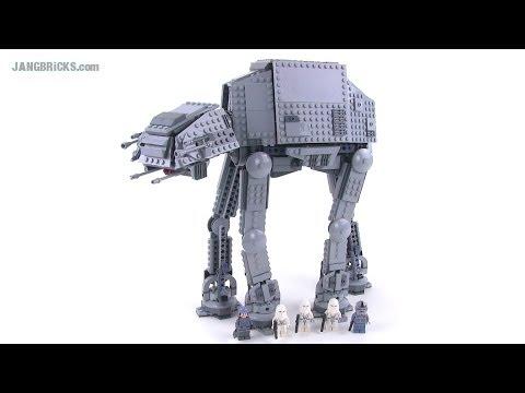 LEGO Star Wars AT-AT Walker 2014 version review!  75054