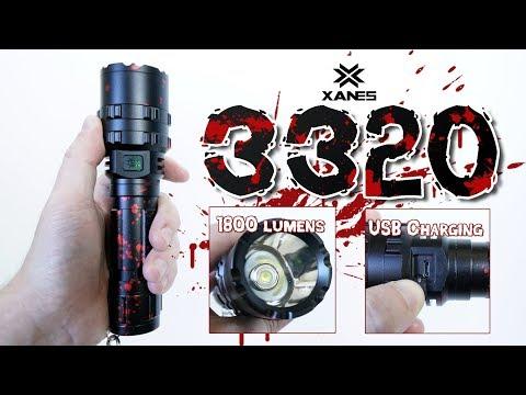 XANES 3320 P50 XHP50 Flashlight review