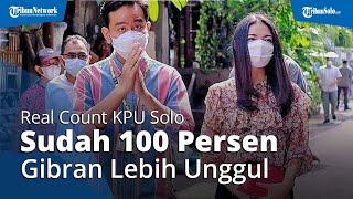 Real Count KPU Solo Sudah 100 Persen: Suara Gibran-Teguh Prakosa Tembus 86,5 Persen