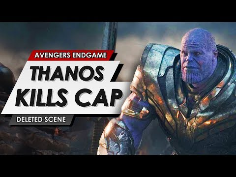 Avengers Endgame: Deleted Scene: Thanos Kills Captain America & All Of The Avengers Explained