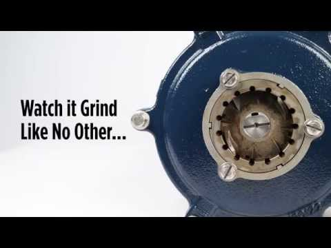Little Giant Model IGP-SMPX2460 Simplex Sewage Grinder Pump Station Video