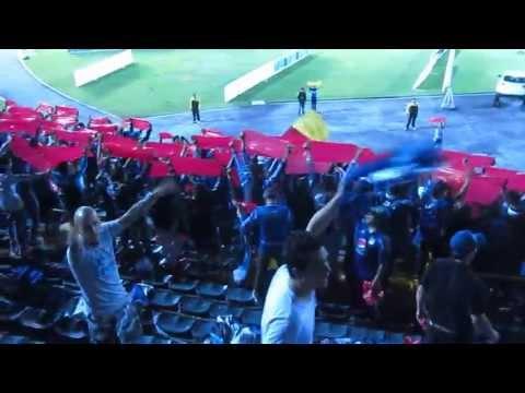 """BLUE RAIN-Entrada de La Banda"" Barra: Blue Rain • Club: Millonarios"