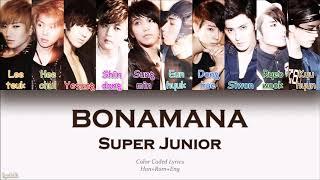 Super Junior 'bonamana'  S With English Translate