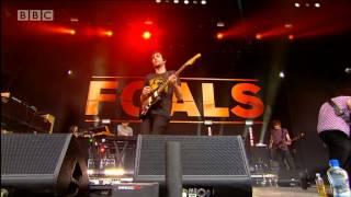 Foals - Inhaler at Radio 1's Big Weekend 2013
