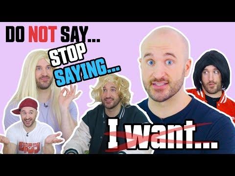 "Stop Saying: ""I want"" - Speak English Like a Native!"
