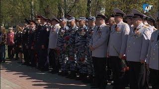 У стелы Город Воинской славы состоялся торжественный митинг