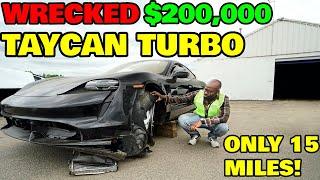 I Found The Worlds CHEAPEST Porsche Taycan TURBO, the $200,000 Tesla killer