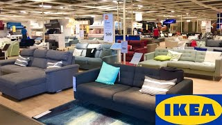 IKEA SHOP WITH ME STORE WALK THROUGH SOFAS COUCHES ARMCHAIRS BEDS KITCHEN FURNITURE DECOR SHOPPING