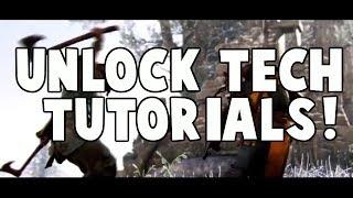 """Berserker Whiff and """"Unlock Tech"""" Tutorials!"""