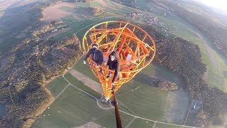 Climbing a 363m Radio Tower in Germany-GYK