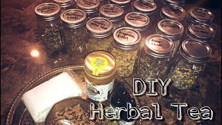 UPDATED|| DIY Herbal Tea Blends🍃🍵 How To Make Your Own!