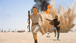 Behind The Abu Dhabi Scenes of Star Wars: The Force Awakens