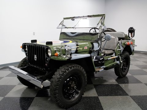 1945 Willys MB Military Jeep for Sale - CC-990465