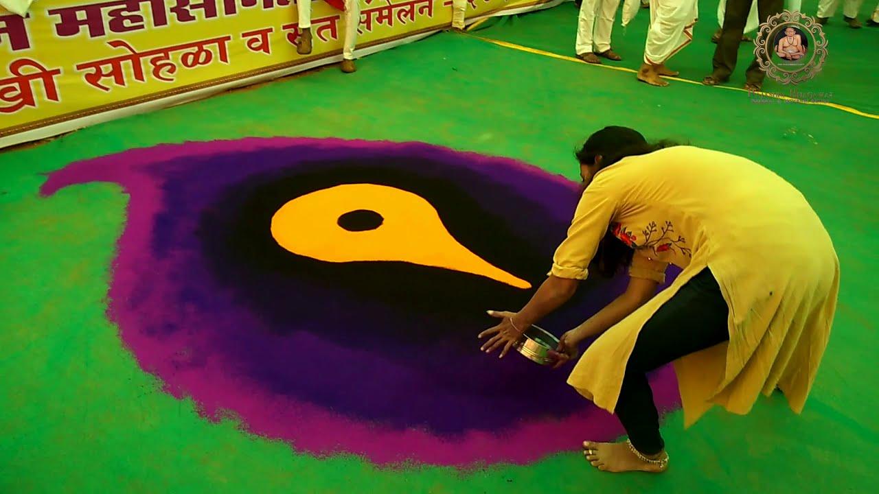 sanskar bharti rangoli design for events by rajashri junnarkar