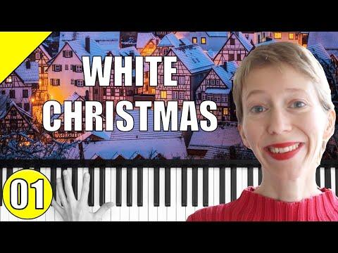 White Christmas – Weihnachtslieder – Piano Tutorial – Teil 1