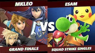 Glitch 6 SSBU - FOX MVG | MKLeo VS PG | ESAM - Smash Ultimate Squad Strike Grand Finals