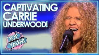 CAPTIVATING Carrie Underwood Covers! | Top Talent
