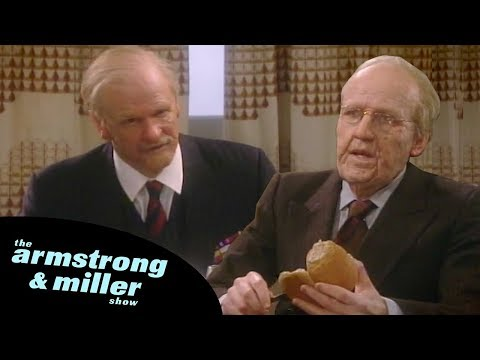 The Armstrong and Miller Show | World War 2 Veterans Fight Over Peter Andre And Jordan