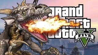 GTA 5 Mods : Dragons V - ДРАКОНЫ В ГТА! (ЭПИК МОД)