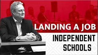 Principal Shares How to Get a Job at an Independent School
