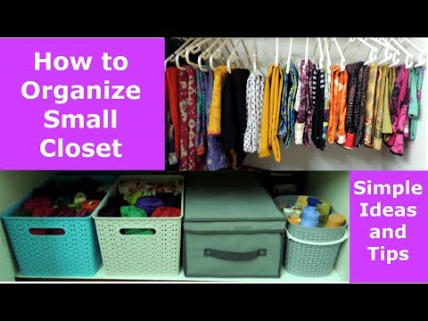 Closet Organization | Women Clothes Organization | Home Organization Tips And Tricks Mp3
