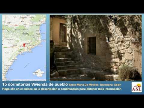 15 dormitorios Vivienda de pueblo se Vende en Santa Maria De Miralles, Barcelona, Spain