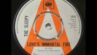 sleepy - love's immortal fire