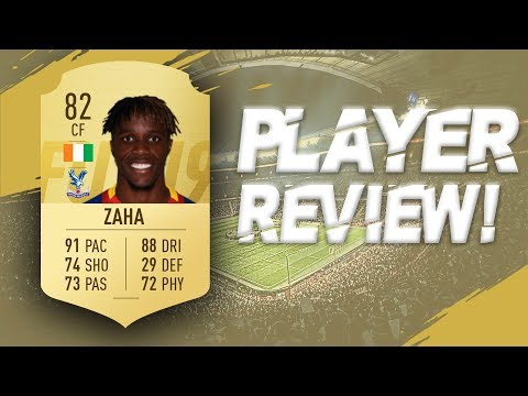 WILFRED ZAHA ( 82 ) PLAYER REVIEW FIFA 19