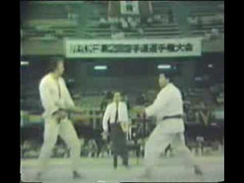 Tokyo 1977: Team kumite final Japan vs Germany