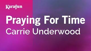 Gambar cover Karaoke Praying For Time - Carrie Underwood *