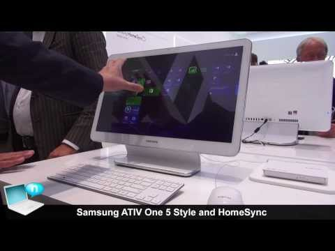 Samsung ATIV One 5 Style and HomeSync
