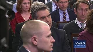 Exchange between White House Press Secretary Sarah Sanders & CNN