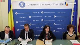 Declarații de presă: Ministerul Educației și Cercetării