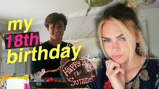 DAY IN MY LIFE #3//MY EIGHTEENTH BIRTHDAY :) | Summer Mckeen