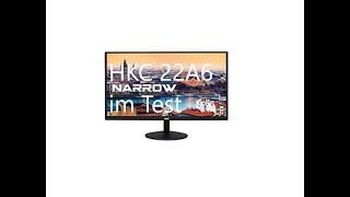 Günstiger Monitor?! HKC 22A6 im Test!