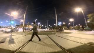 preview picture of video 'Trazado tranvía Jaén noviembre 2013'