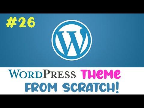 #26 Wordpress theme from scratch | Post views custom query | Quick programming beginner tutorial