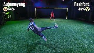 Aubameyang vs Rashford vs Oxlade-Chamberlaine vs Benteke vs Silva vs Icardi - Nike Strike Night