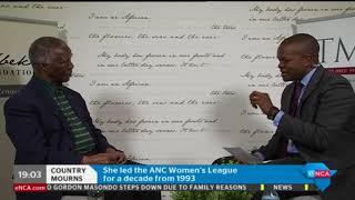 Former president Thabo Mbeki reflects on Winnie Madikizela-Mandela's legacy - PART 2
